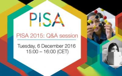 Sesión de preguntas y respuestas PISA
