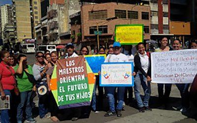 """Respuesta a Nicolás Maduro y sus medidas para """"proteger al magisterio venezolano"""