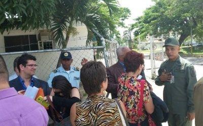 Secretario de Seguridad decidió mantener en reclusión a estudiantes de la UPEL Maracay.