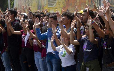 Estudiantes de la UCV se plantan en la universidad y no aceptarán autoridades impuestas