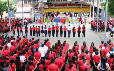 1.849 niños venezolanos más en las escuelas de Cucuta.
